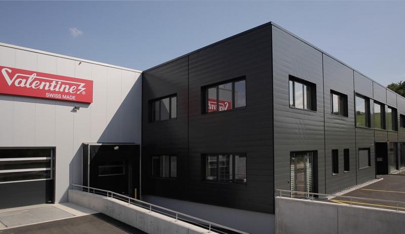 Valentine Switzerland factory