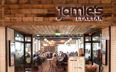 Jamies Italian Gatwick Airport