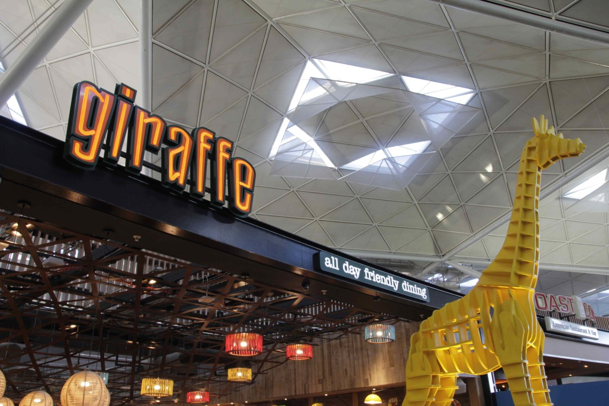 Giraffe Stansted Airport