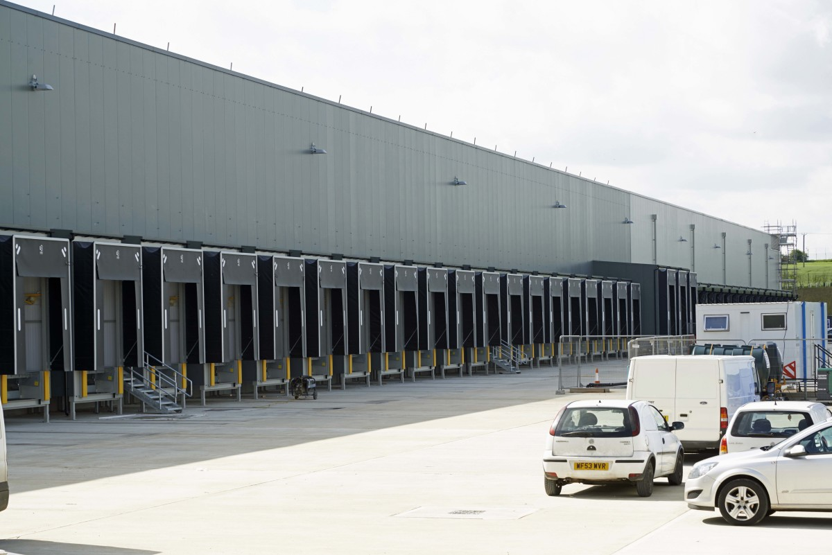 Aldi cold store warehouse
