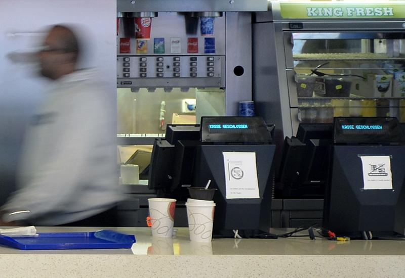 Burger King counter