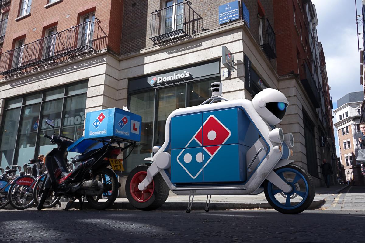 Domino's driverless vehicles