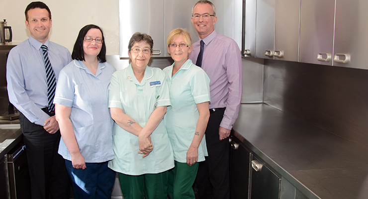 Strathcarron Hospice kitchen donation