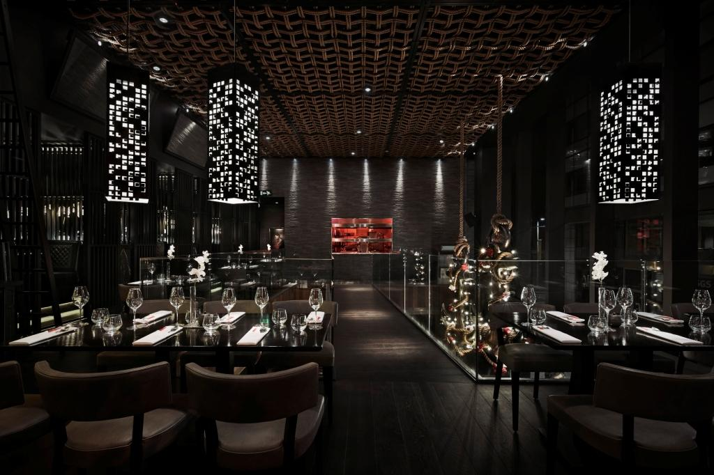 Tattu restaurant interior