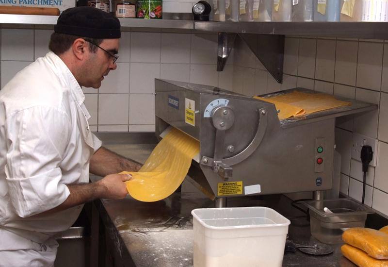 Carluccio's dough sheeter