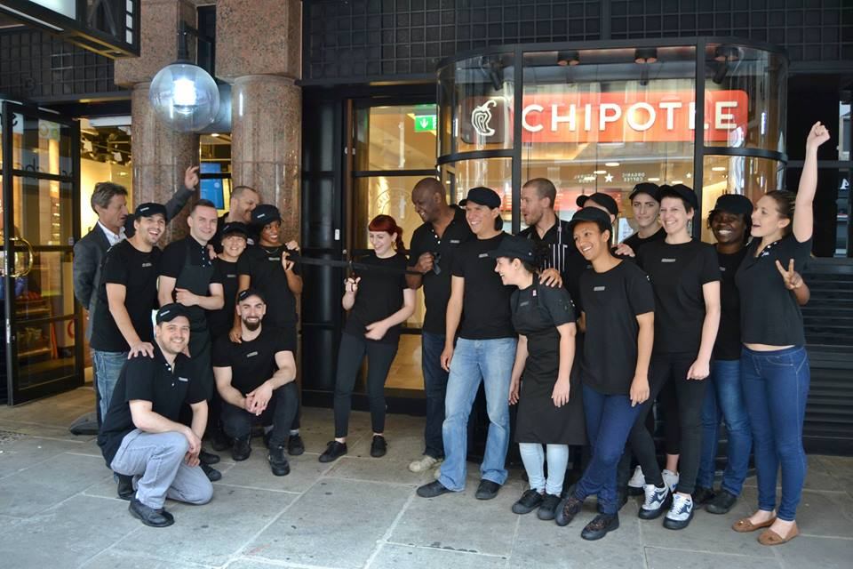 Chipotle London Wall