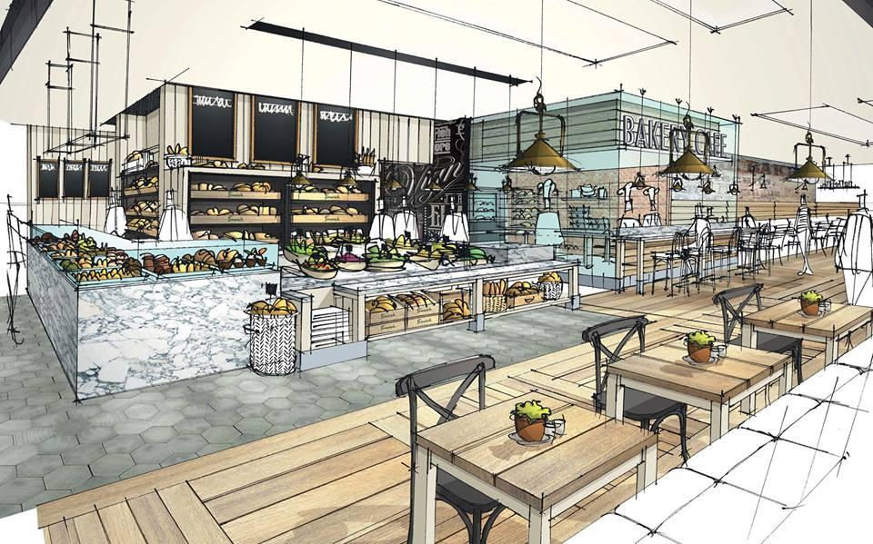Fenwick Newcastle food hall