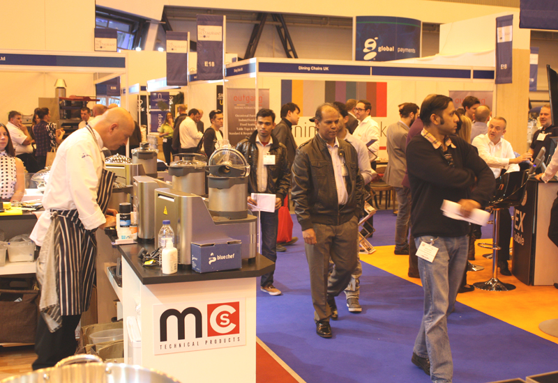 The Restaurant Show floor