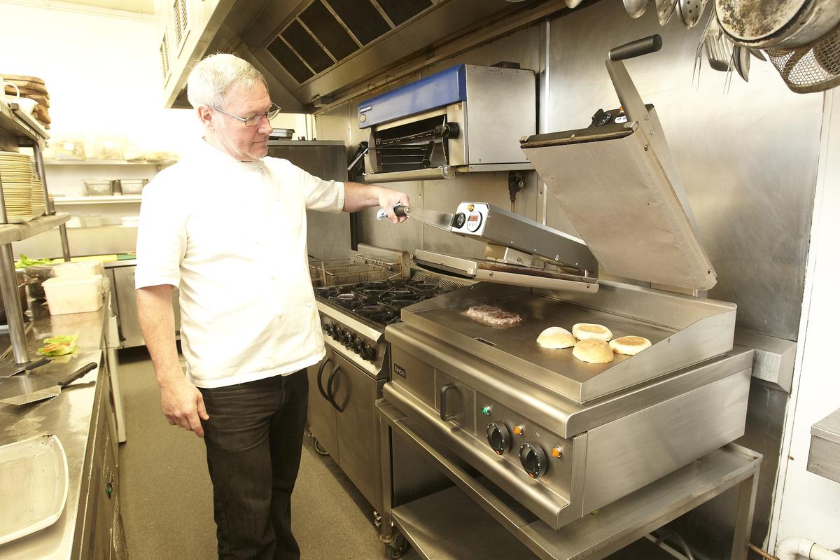 Andy Burns, group executive chef