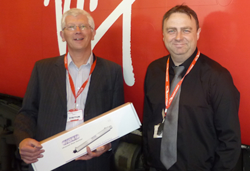 Mark Brown, Aqua Cure with Warren Johnston, Virgin Trains