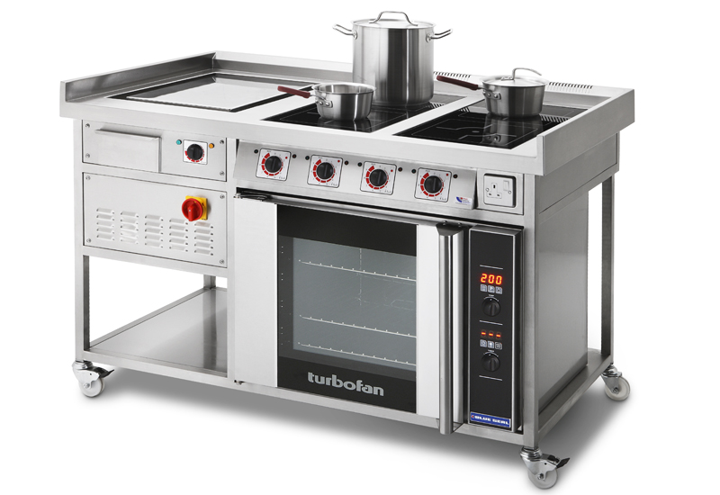 Target Chefs' Range induction cooking suite