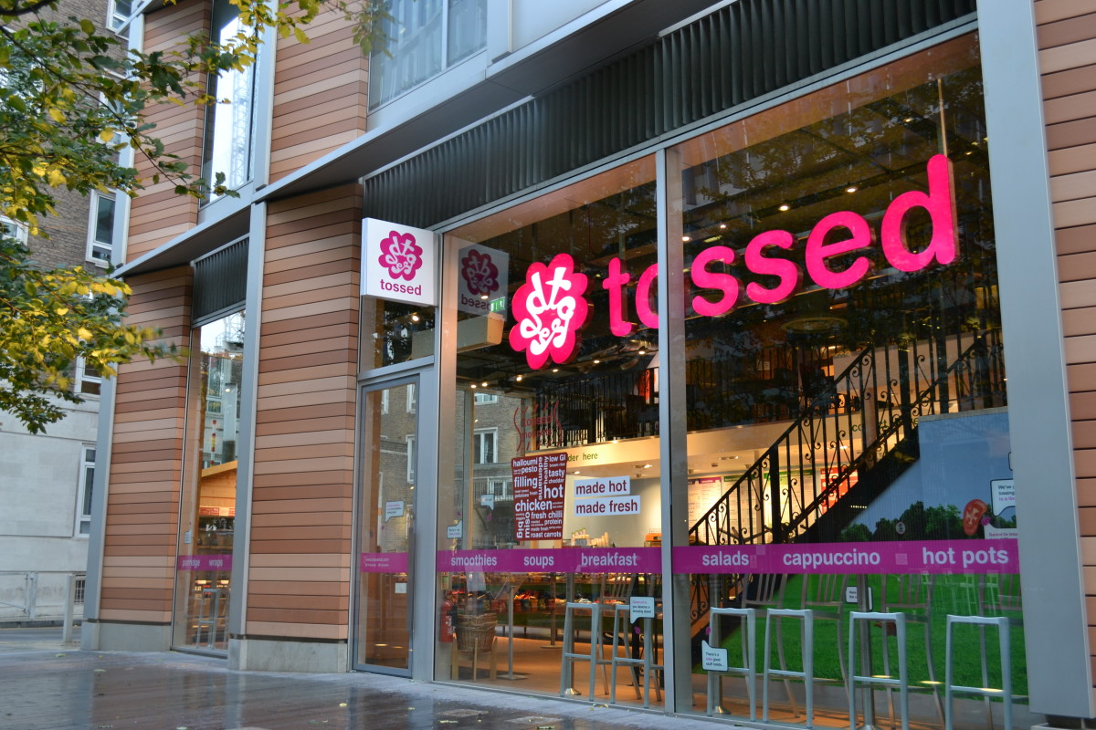 Tossed Bankside