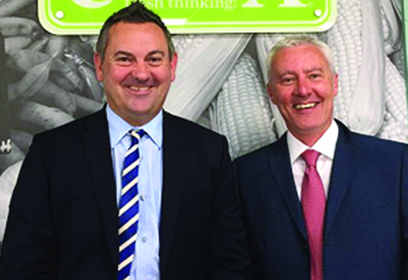 Steve Quinn, chief executive and Stuart Lenton, managing director