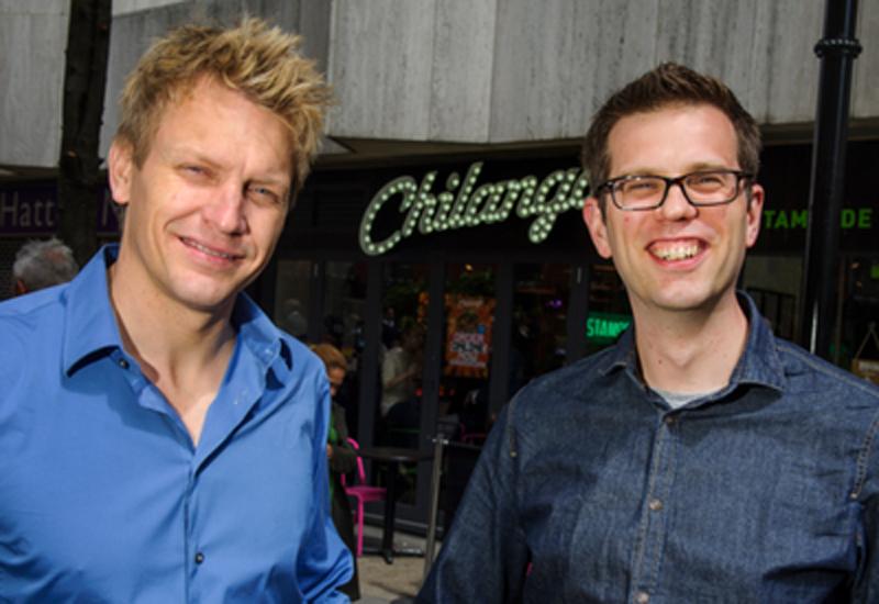 Eric Partaker and Dan Houghton, founders, Chilango
