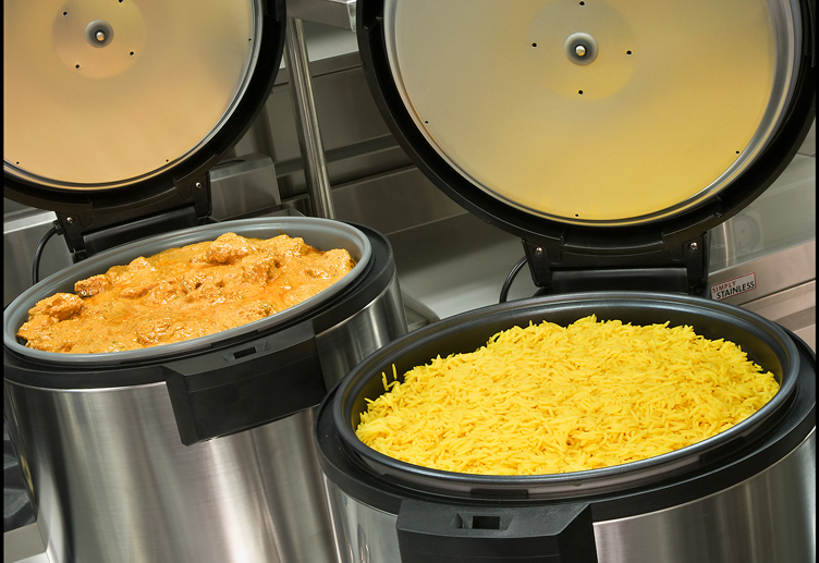 RH Hall rice cookers