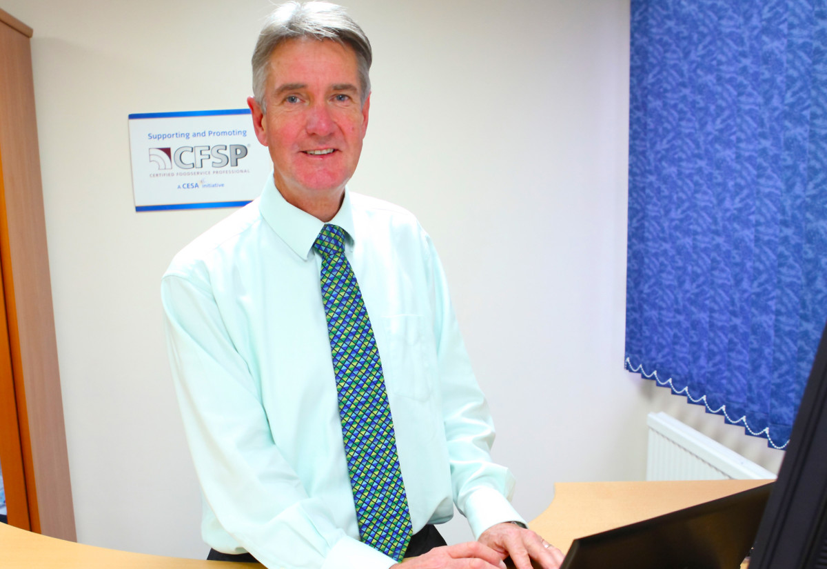 Steve Elliott, managing director, Serviceline