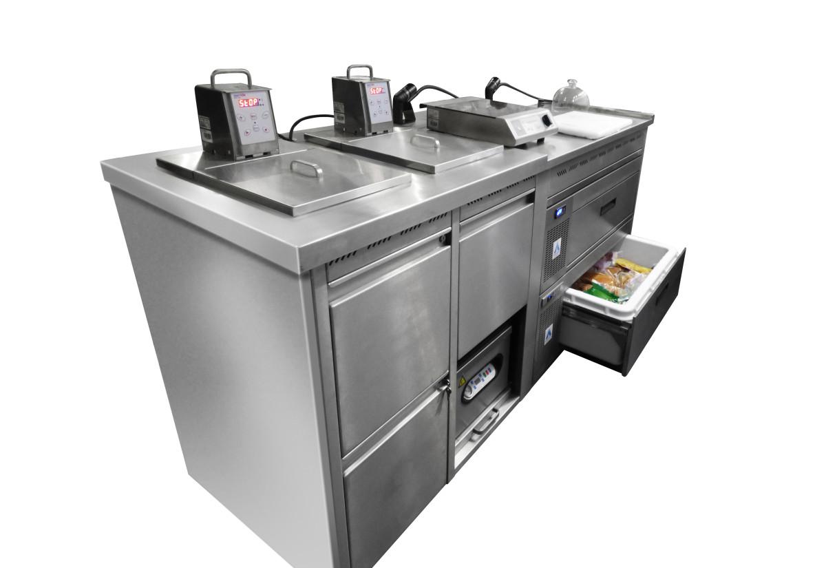 Adande sous vide refrigeration unit