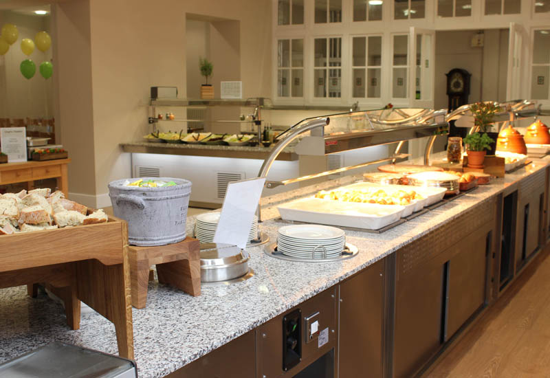Bespoke Moffat counters at Red Maids School
