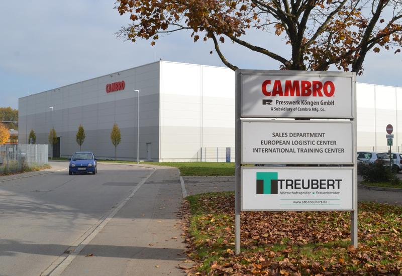 Cambro factory, Stuttgart