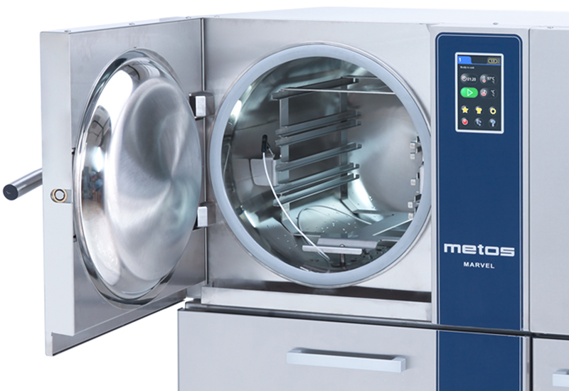 Metos Marvel pressure steamer 1