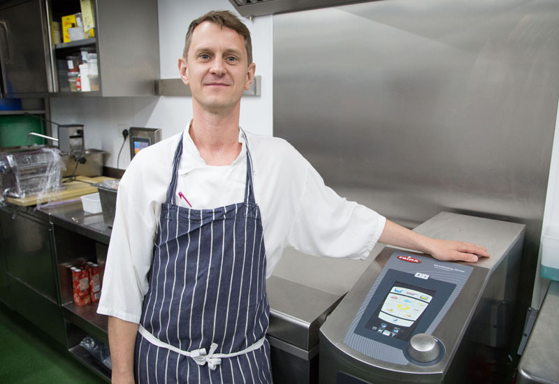 Jeremy Bloor, head chef
