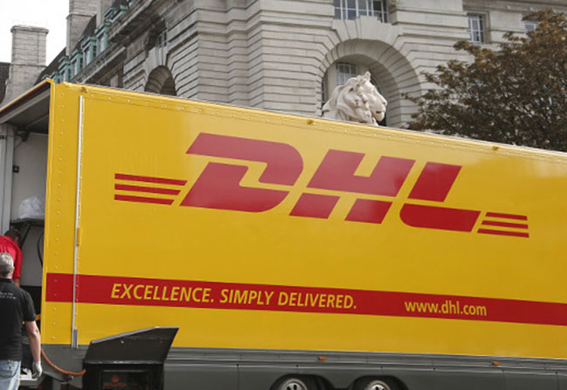 DHL lorry