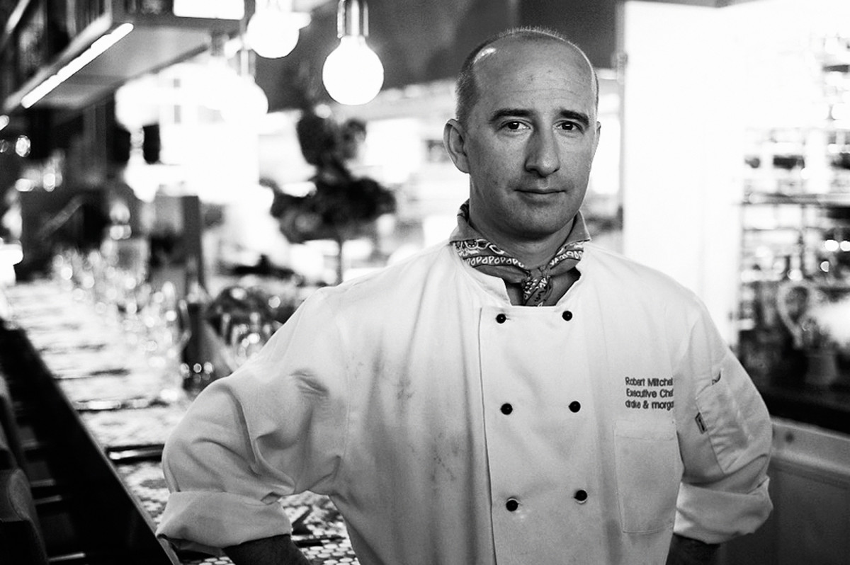 Robert Mitchell, executive chef, Drake & Morgan