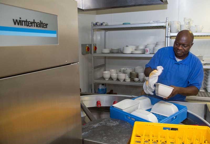 Winterhalter warewasher at Unilever HQ