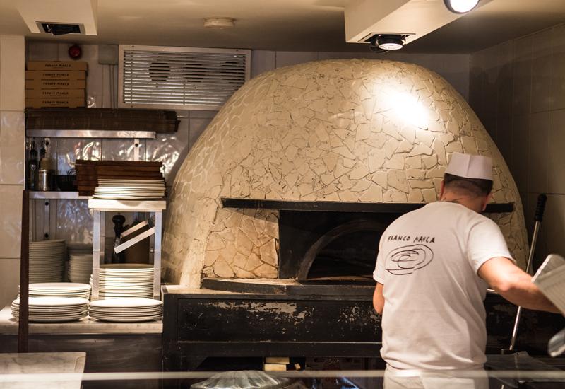 Franco Manca oven