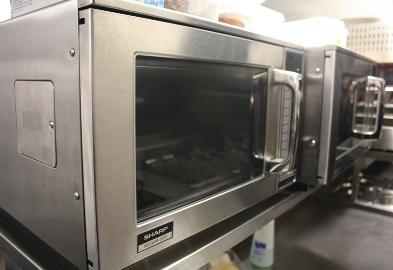 Sharp microwaves