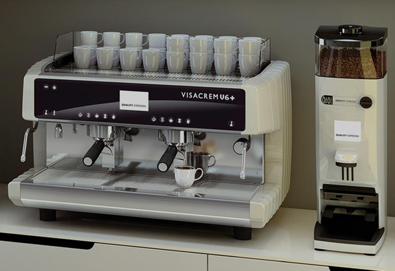 Visacrem espresso machine