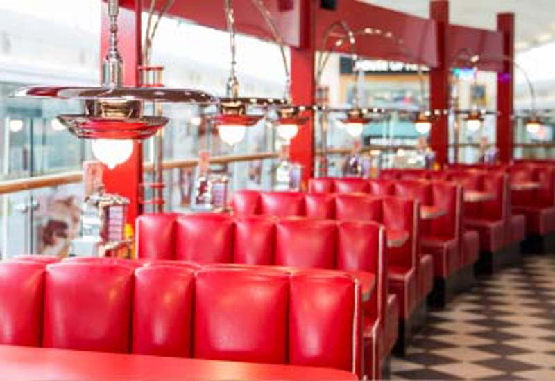 Ed's Easy Diner interior