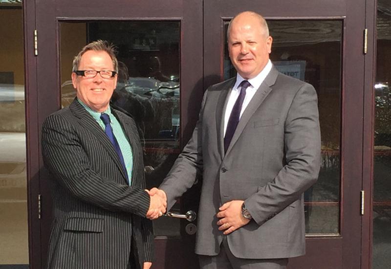 Julian Lambert, sales director and Robert Wager, national accounts manager
