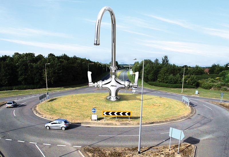 Mechline roundabout sculpture