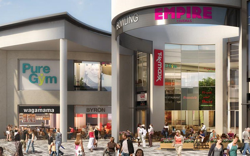 Ipswich Buttermarket shopping centre