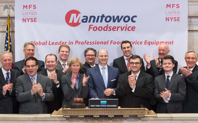 Manitowoc Foodservice NYSE listing
