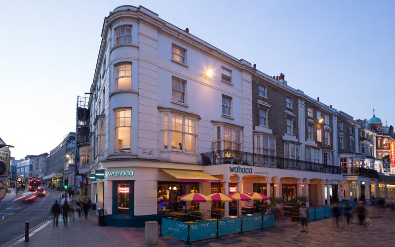 Wahaca Brighton exterior