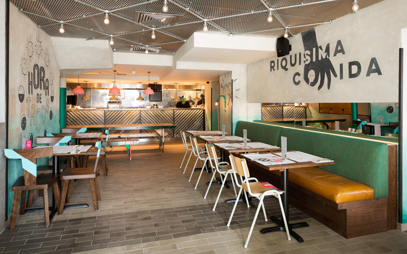 Wahaca Brighton interior