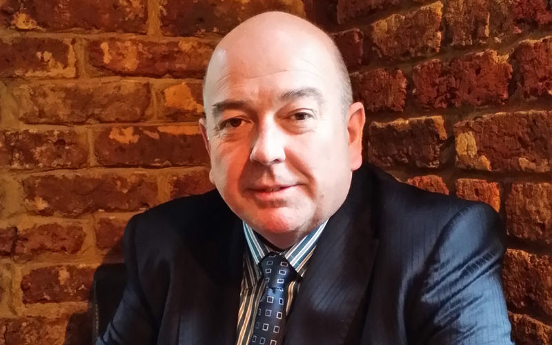 Tony Aris, sales director
