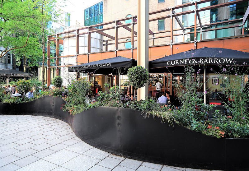 Corney & Barrow Bars