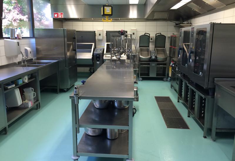 Frima appliances in the new kitchen at ABB Schweiz AG