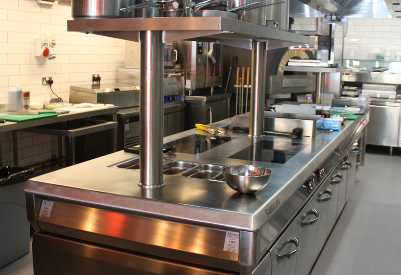 The Restaurant Group development kitchen