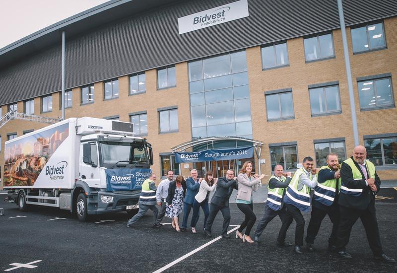 Bidvest Foodservice Slough depot