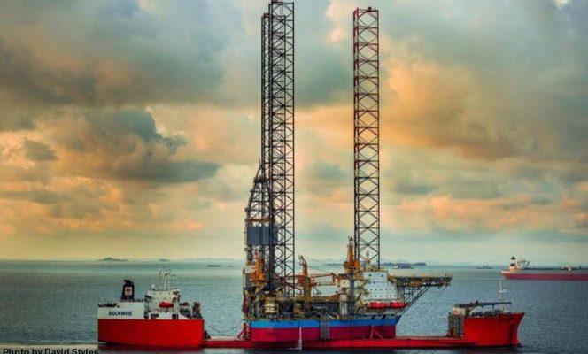 Maersk Highlander drilling rig