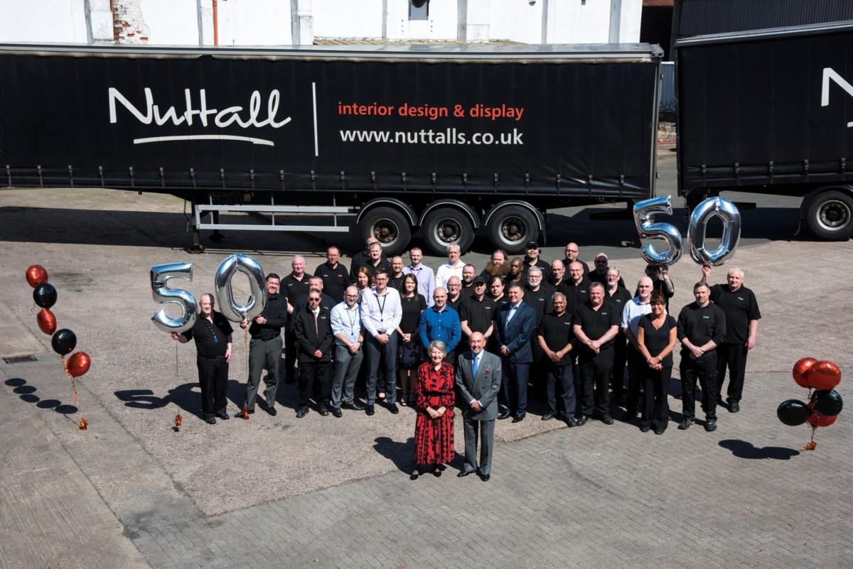 Nuttalls staff