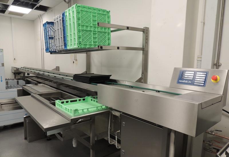 Rendisk food waste system, Westfield London
