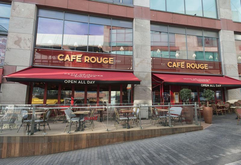 Cafe Rouge, Birmingham Bullring