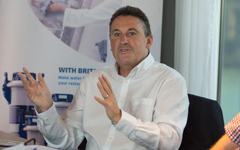 Steve Buckmaster, BRITA roundtable 2016