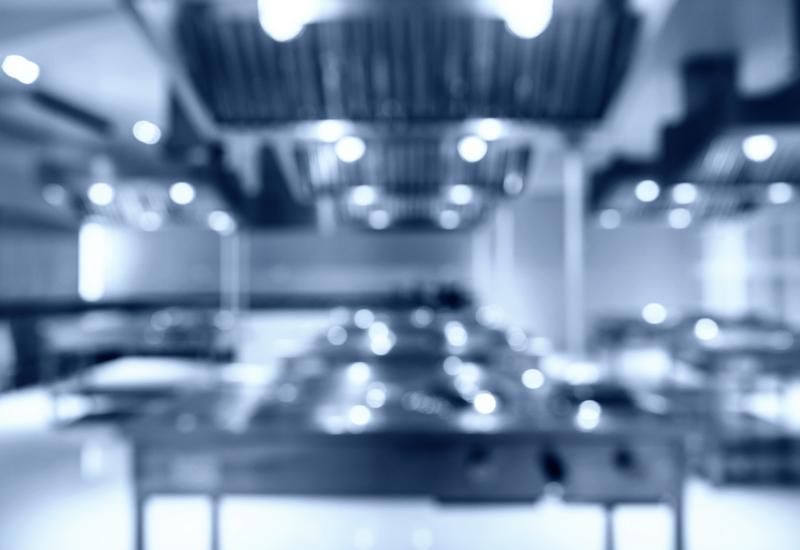 Blurred kitchen