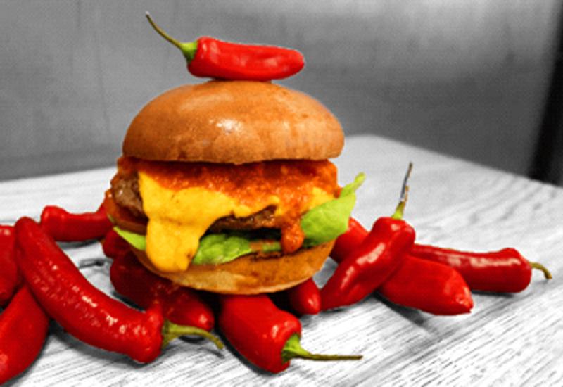 Carolina Reaper burger
